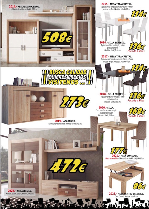 Muebles roble almonte 20170903053227 - Mundo joven muebles catalogo ...